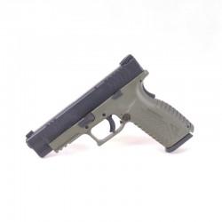 """Pistolet XDM-9 4,5"""" kal. 9x19 czarno - zielony"""