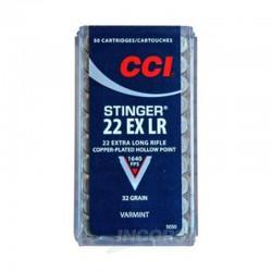 22LR (5,6mm) STINGER CCI 1op.50szt.