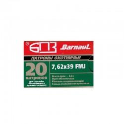 7,62x39 8,1g ZM FMJ BARNAUL