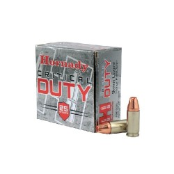9mm LUGER Critical 135gr HORNADY (25)