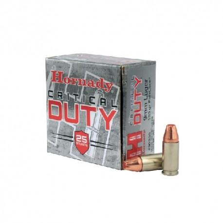 9mm LUGER Critical 135gr HORNADY (25)