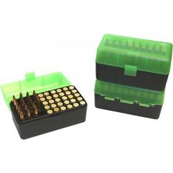 Pudełko na amunicję RM-50-16T 308win MTM zielone