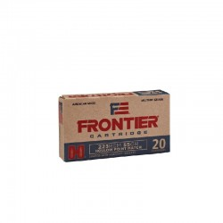 223 Rem HP 55gr Frontier (pakowana po 20 szt)